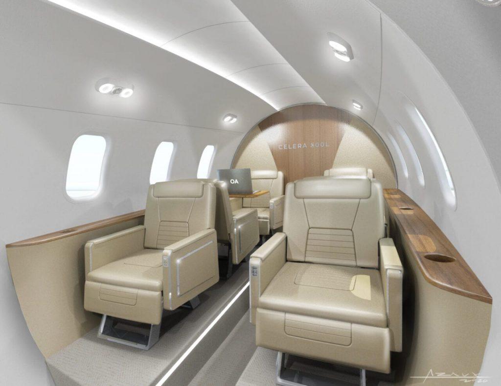 Компания Otto Aviation официально представила самолёт Celera 500L
