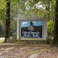 Национальный парк штата Арканзас «Кратер алмазов»