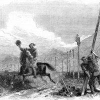 История первой в мире трансконтинентальной телеграфной линии