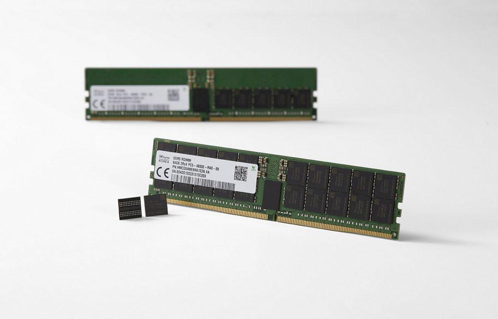 SK hynix выпустила первую в мире оперативную память DDR5 DRAM
