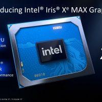 Intel выпустил мобильную версию видеоадаптера Iris Xe Max
