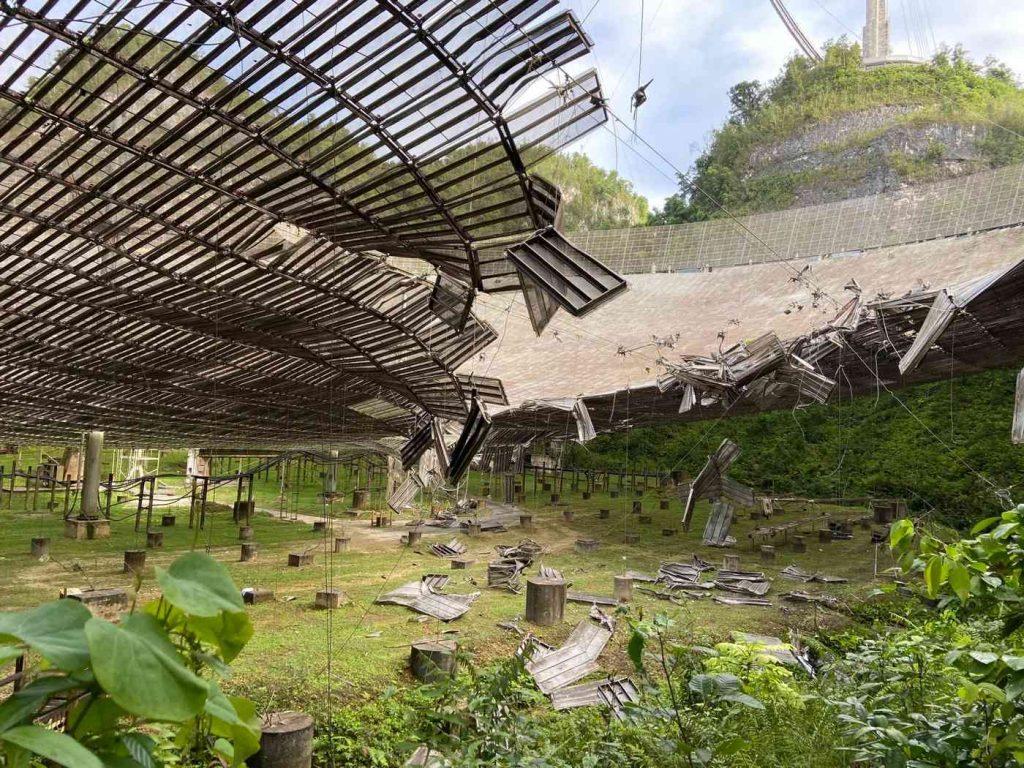 Обсерваторию Arecibo демонтируют после серии ЧП