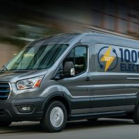 Компания Ford представила электрический грузовой фургон E-Transit