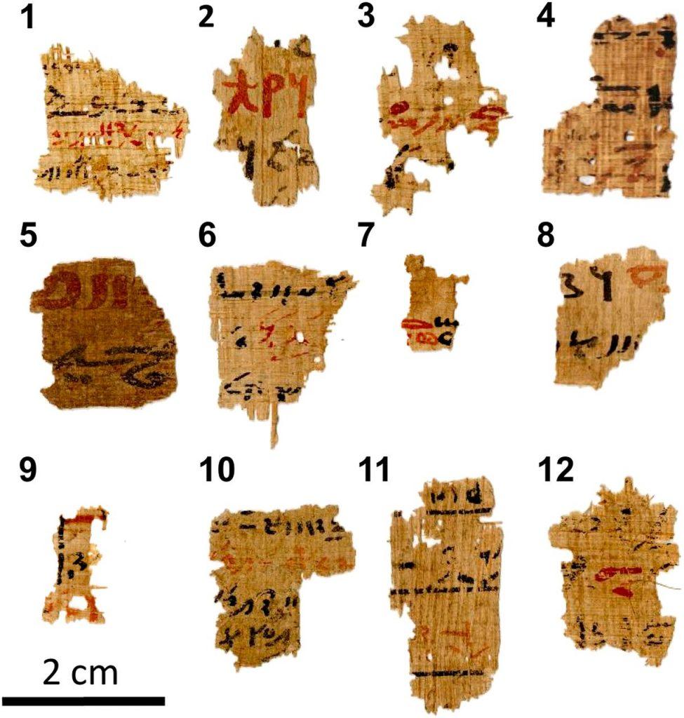 Учёные раскрыли секрет древнеегипетских чернил