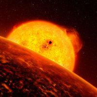 K2-141b: лавовая планета с каменными дождями и сверхзвуковыми ветрами