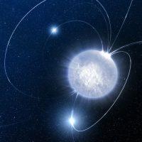 Учёные впервые наблюдали рождение магнетара