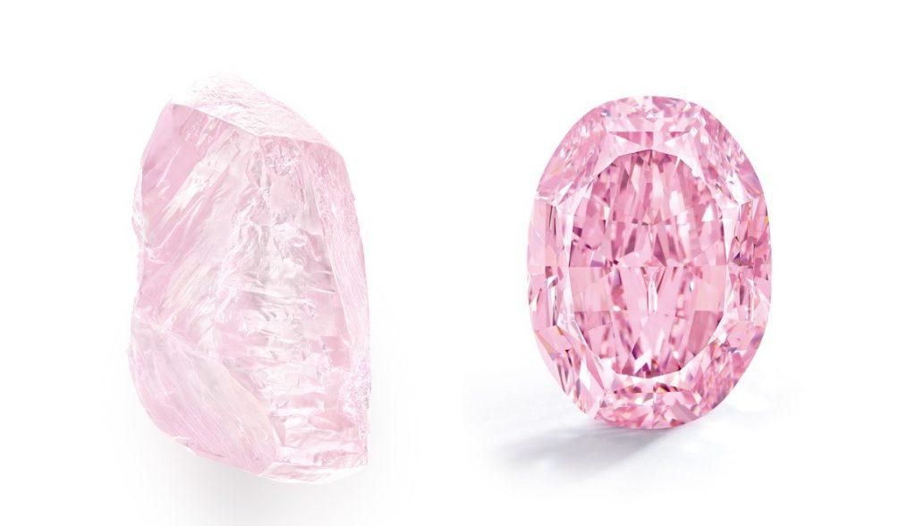 «Le Spectre de la rose» самый дорогой фиолетово-розовый бриллиант