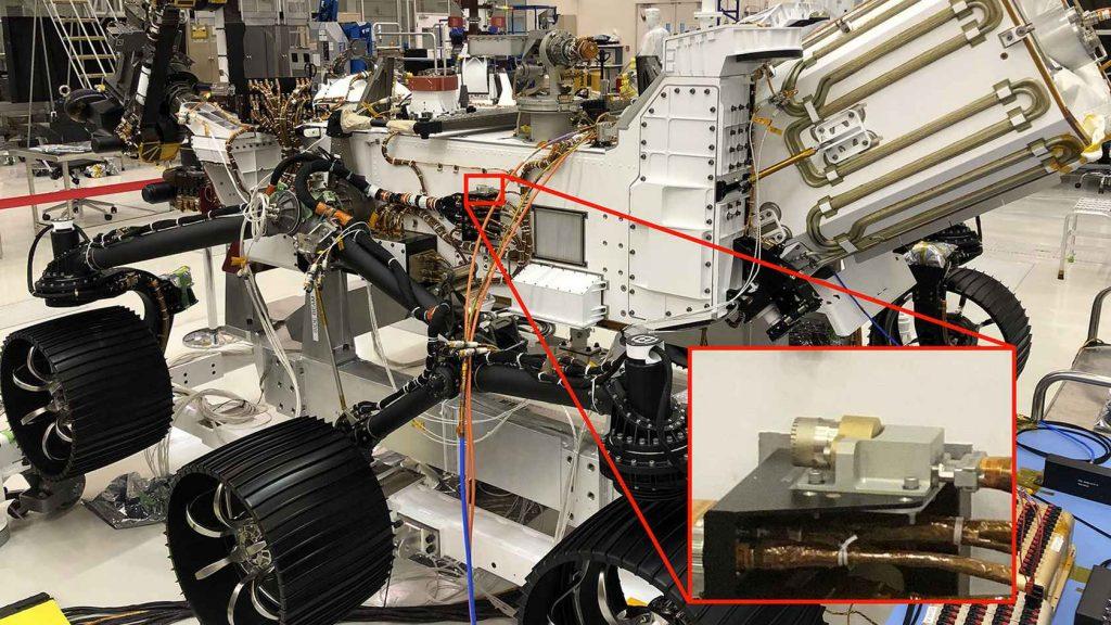 NASA опубликовало первую запись с EDL-микрофона марсохода Perseverance