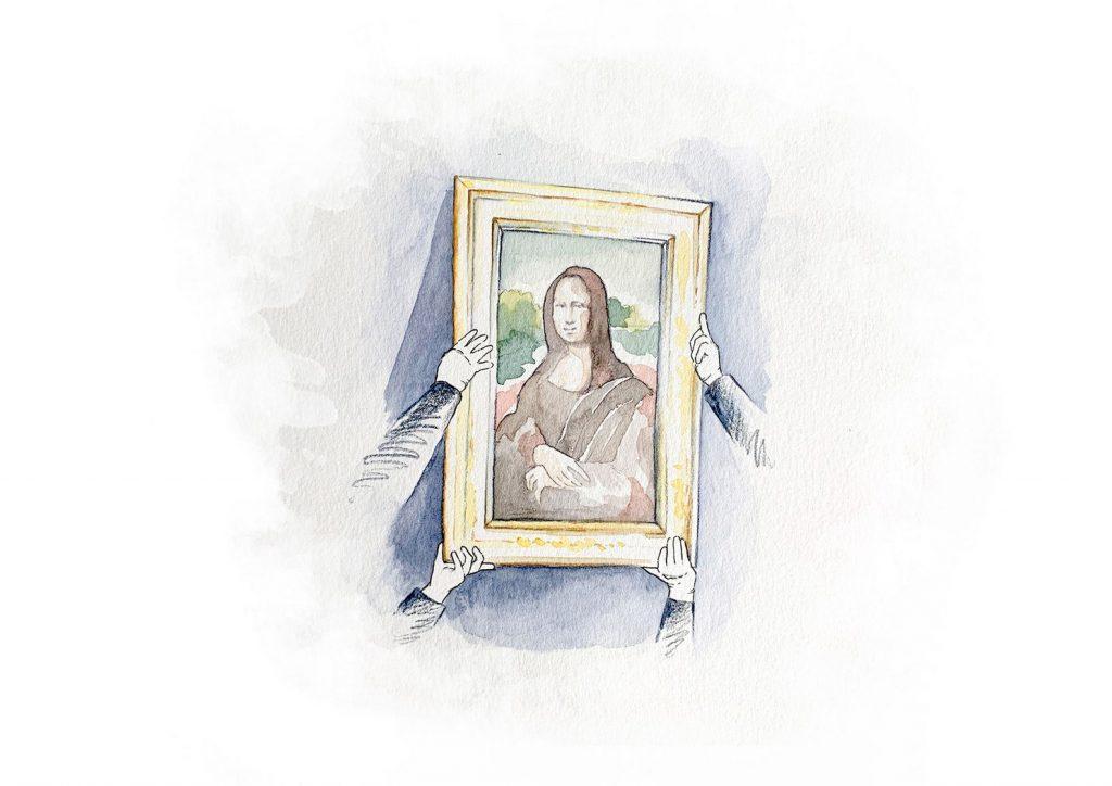 «Bid for the Louvre»: Лувр продаст свидание с «Моной Лизой» на аукционе