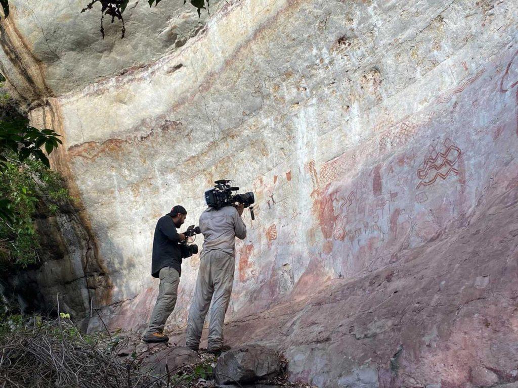 В колумбийской Амазонии нашли уникальный образец доисторической наскальной живописи