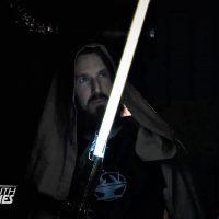 Фанаты «Star Wars» создали первый реальный световой меч