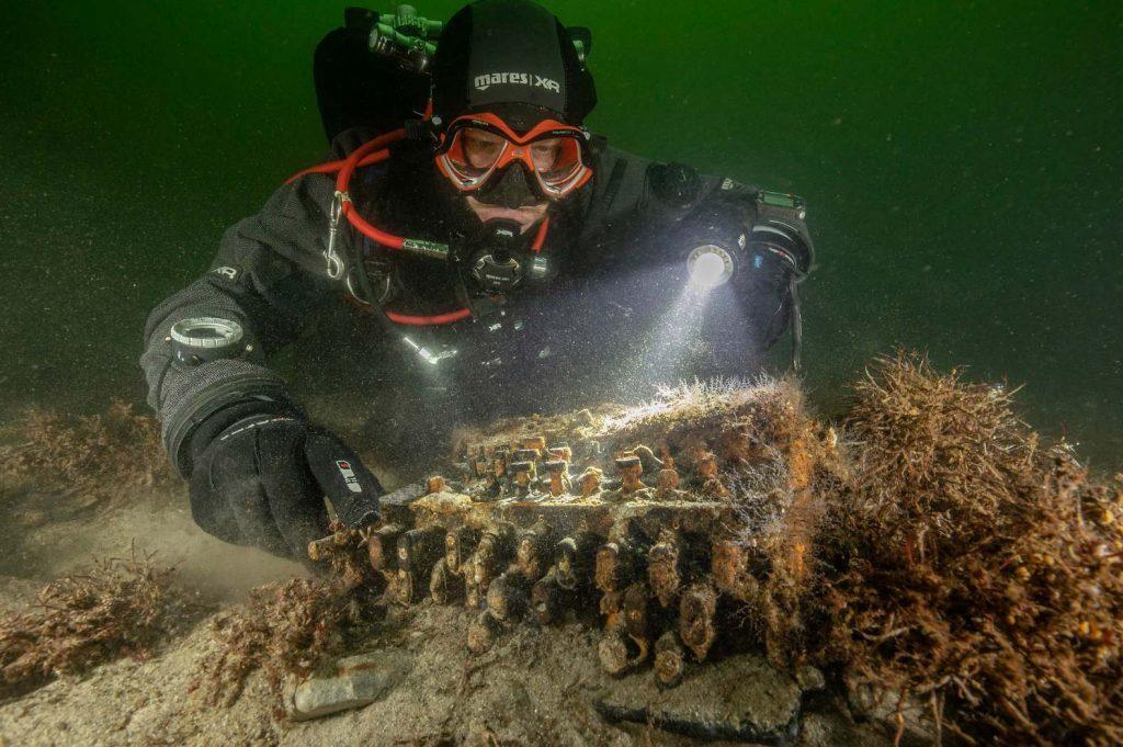 На дне Балтийского моря обнаружили военную «Энигму»