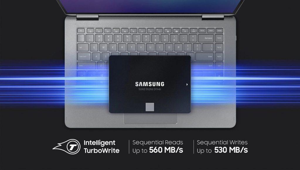 Samsung представила новое поколение SSD 870 EVO