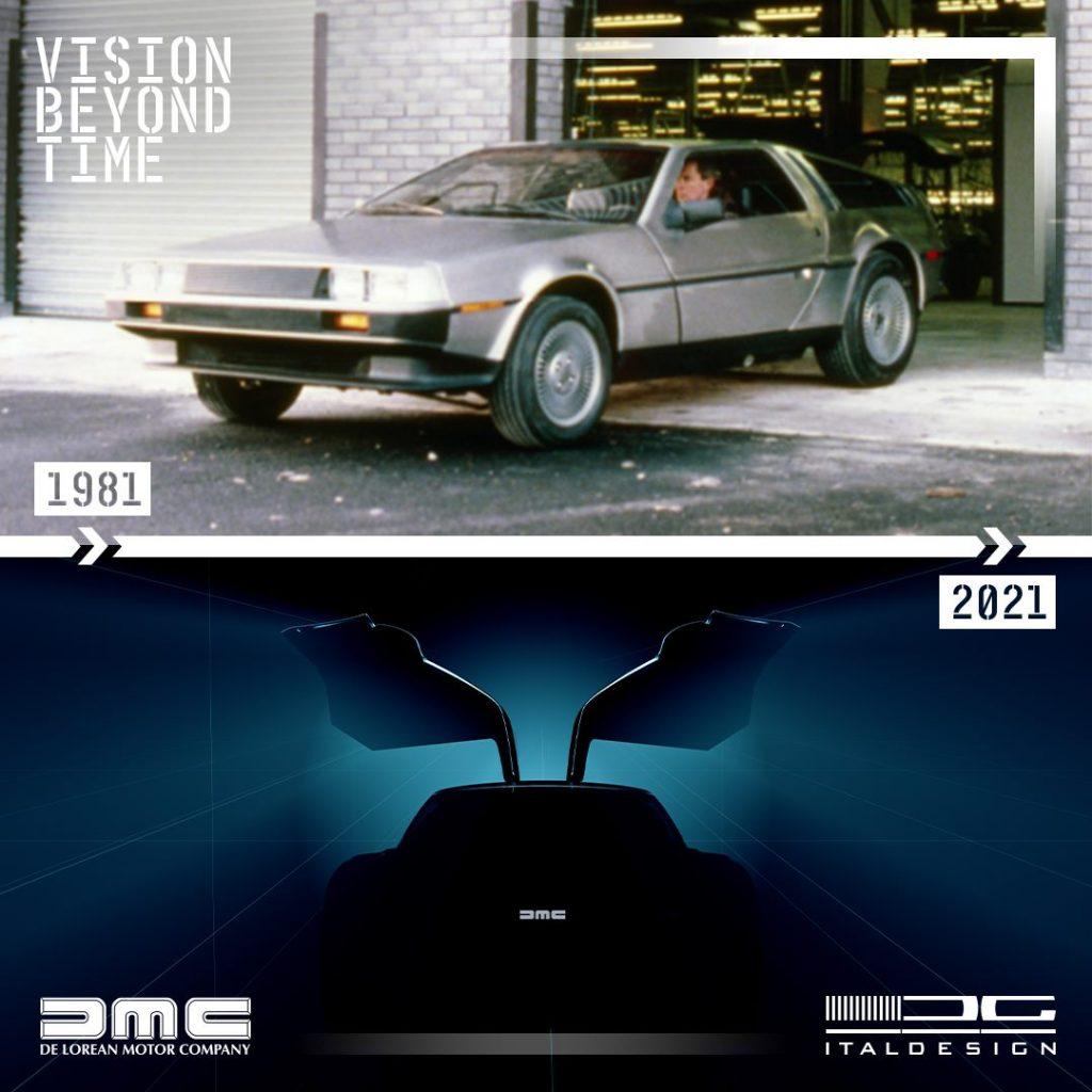 Italdesignвозродит легендарный DeLorean DMC-12
