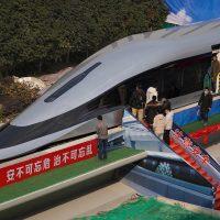 В Китае представили новый прототип высокоскоростного HTS маглева