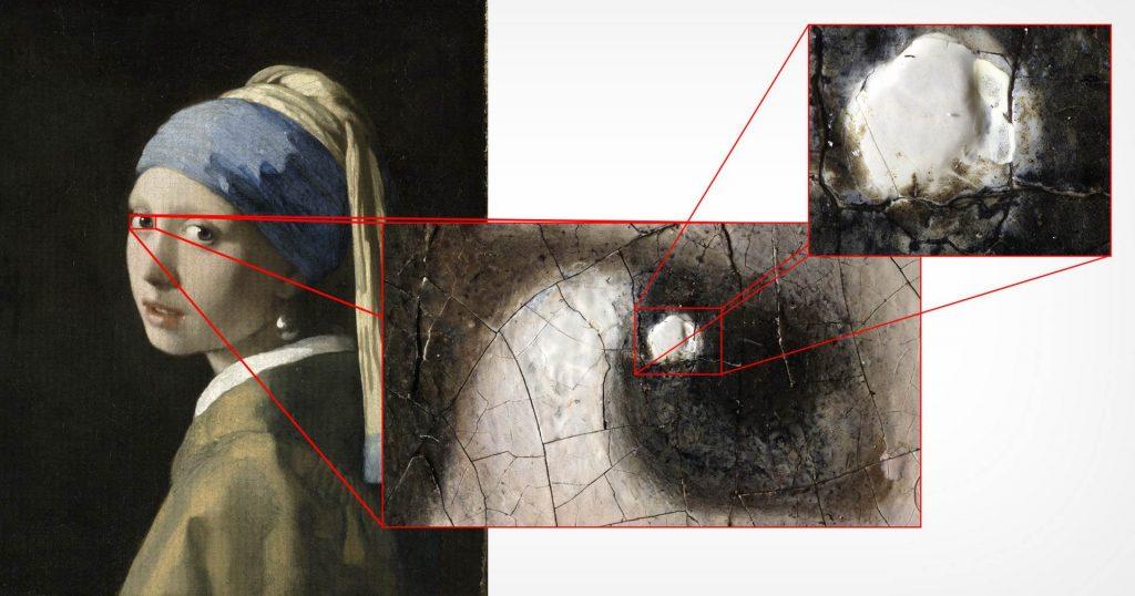 «Девушка с жемчужной серёжкой» в разрешении 10 гигапикселей