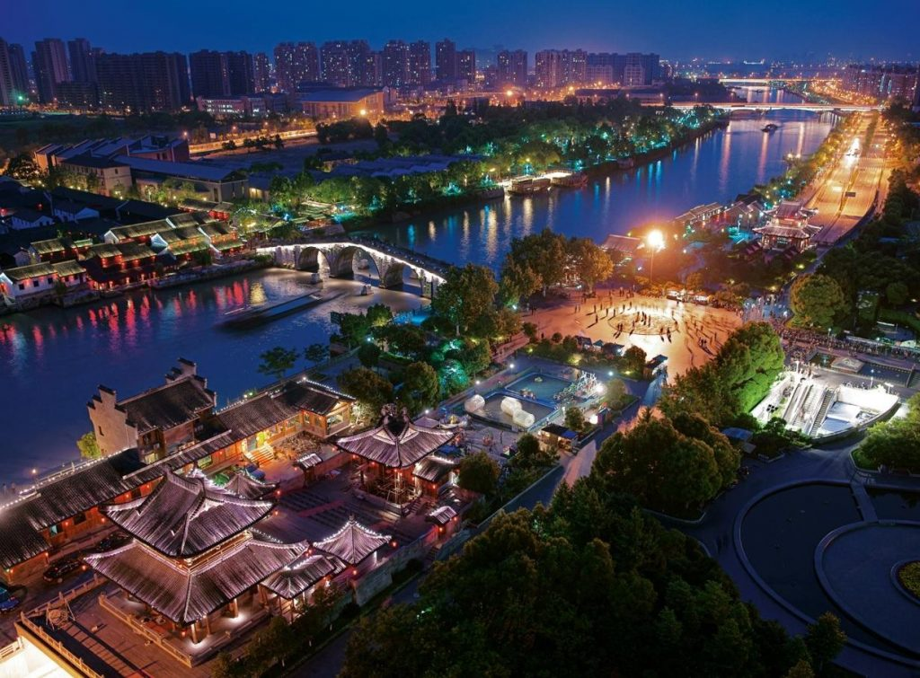 Великий канал Китая: маршрут Пекин – Ханчжоу