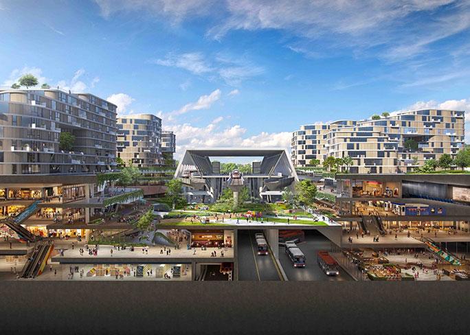 Tengah: в Сингапуре появится огромный эко-город