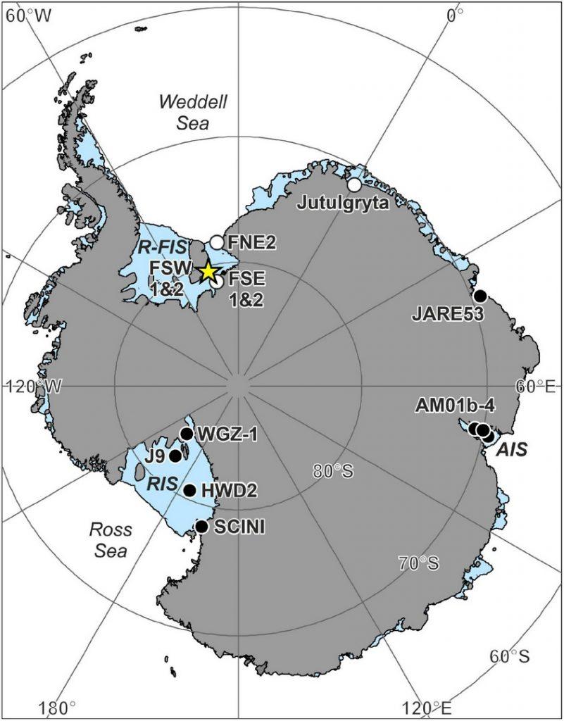 Подо льдами Антарктиды обнаружили неизвестных животных