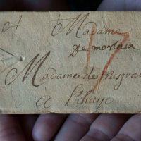 Учёные впервые виртуально прочитали запечатанные письма
