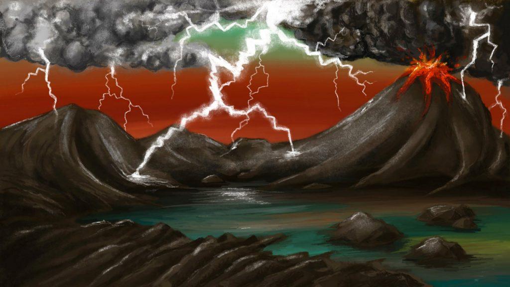 Древние молнии могли стать искрой, необходимой для зарождения жизни