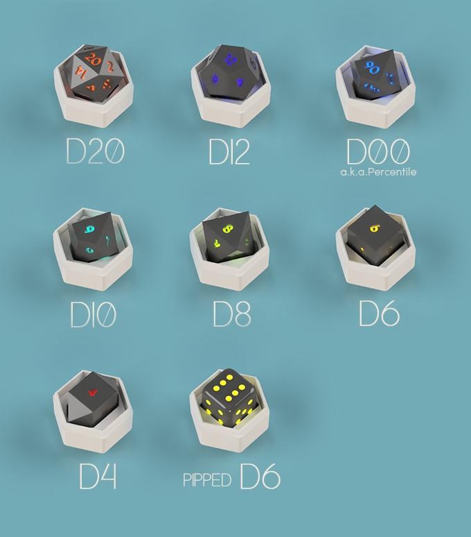 Pixels: «умные» электронные игральные кости