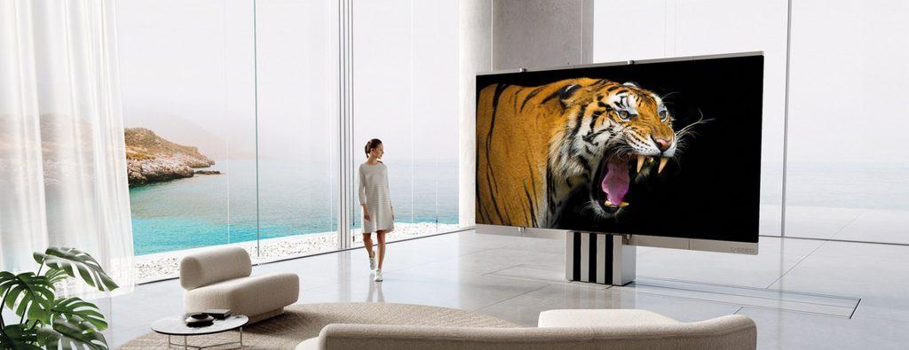 C SEED M1: первый в мире домашний телевизор-гармошка