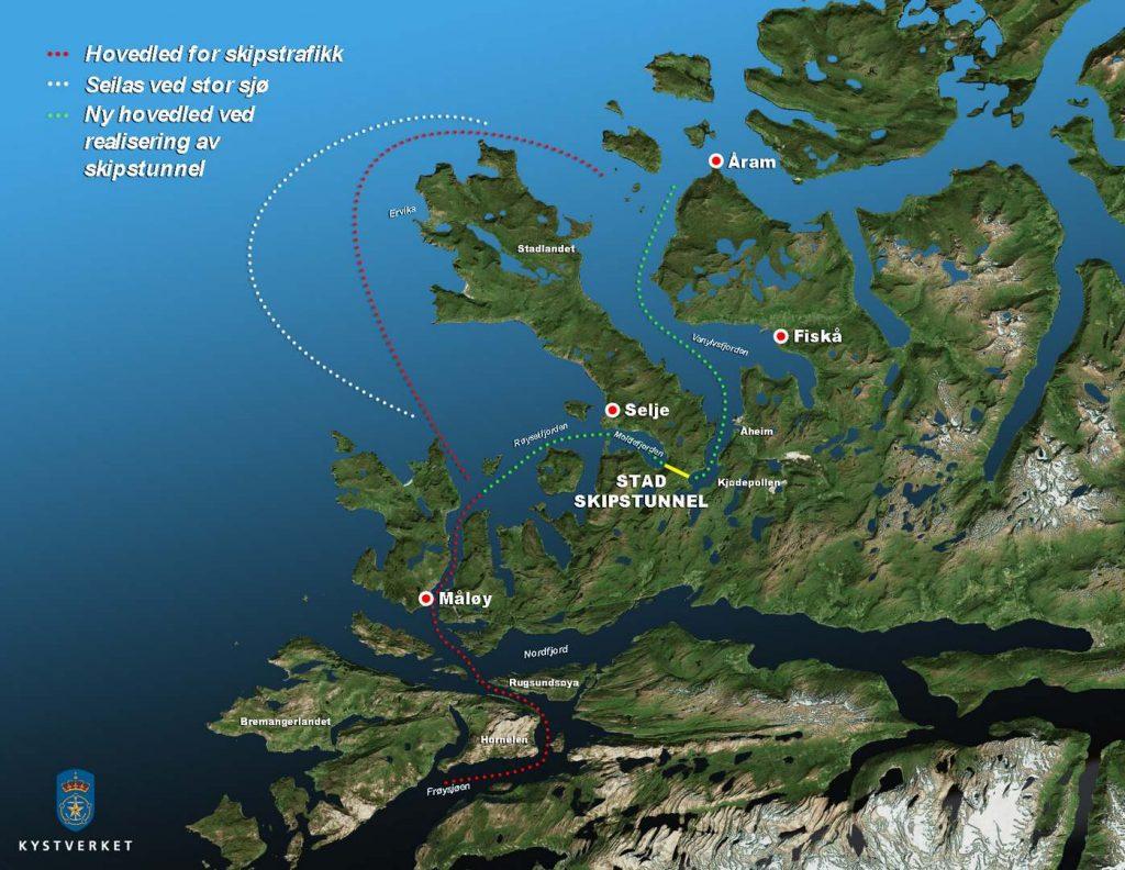 В Норвегии построят первый в мире судоходный тоннель