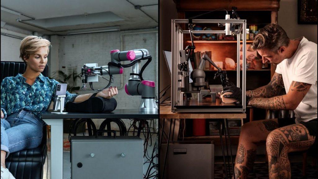 The Impossible Tattoo: первое в мире дистанционное тату