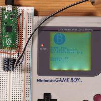 Энтузиаст научил Nintendo Game Boy майнить Bitcoin