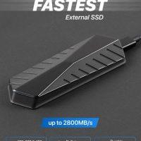 Самый быстрый внешний SSD накопитель Gigadrive — до 2800 MB/s.