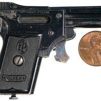 Kolibri — самый маленький серийный пистолет в мире