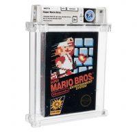 Редкую копию игры Super Mario Bros. продали за $660 000
