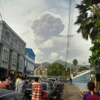 Смертельная репутация вулкана Суфриер на острове Сент-Винсент