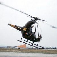 YH-32 Hornet — вертолет с двигателями на концах лопастей