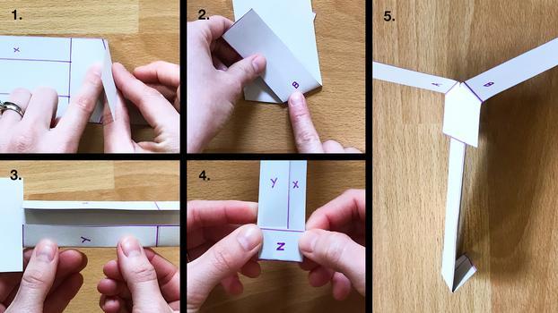 Как собрать вертолёт Ingenuity из бумаги и создать видеоигру с его участием