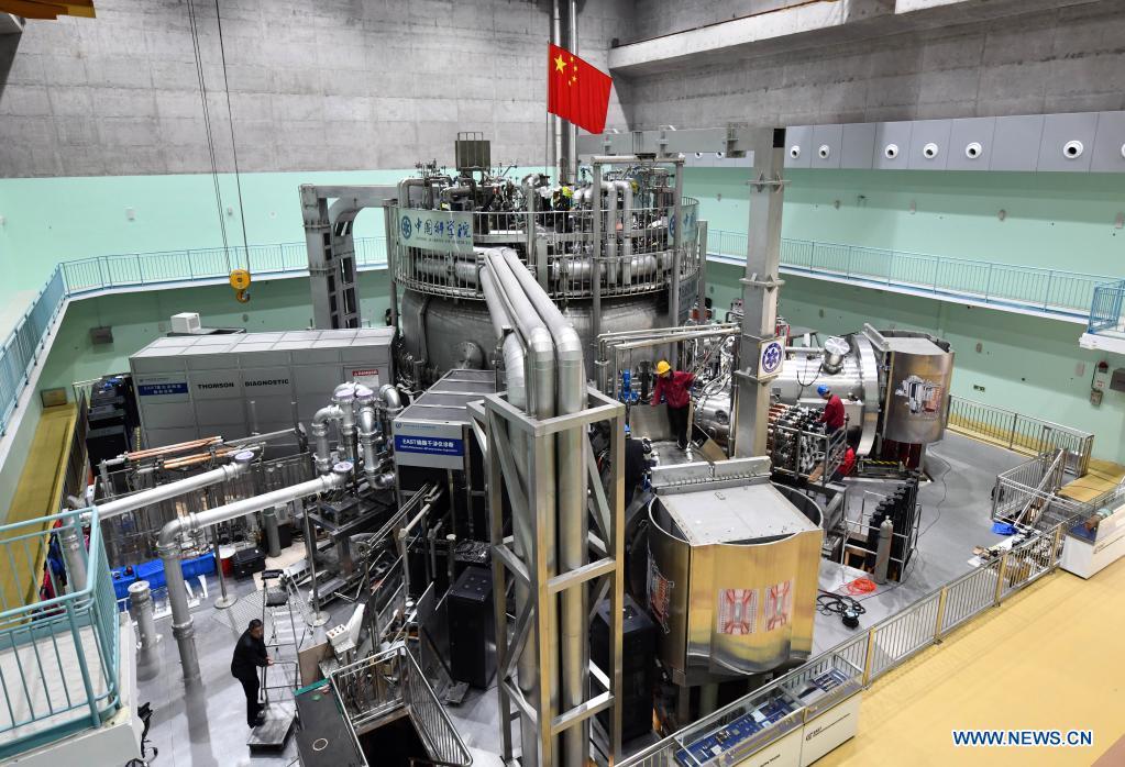 Китайский токамак EAST установил новый мировой рекорд