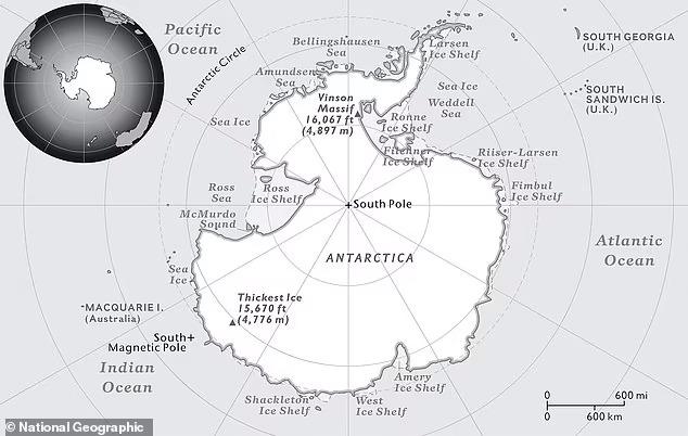 Южный океан: учёные признали существование пятого океана