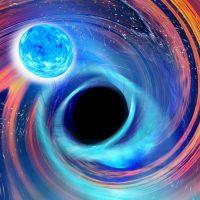 NSBH: слияние чёрной дыры с нейтронной звездой