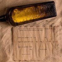 Австралийцы обнаружили старейшее послание в бутылке