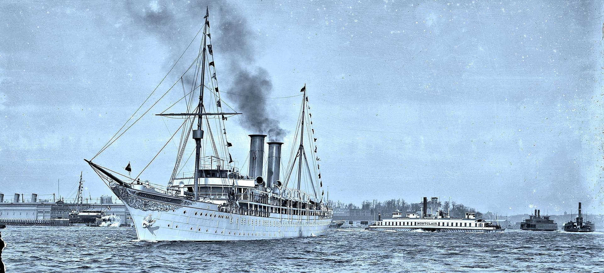 Prinzessin Victoria Luise: первое круизное судно