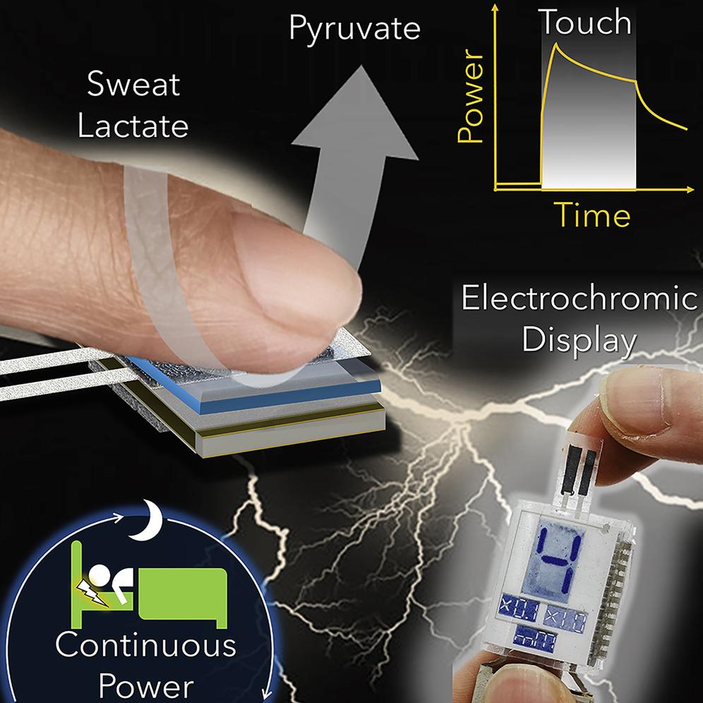 Энергия на кончиках ваших (потных) пальцев