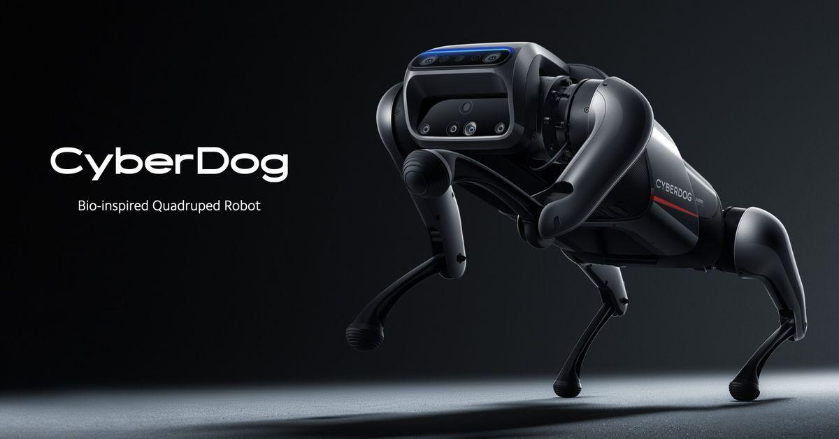 CyberDog: Xiaomi представила собственного четвероногого робота