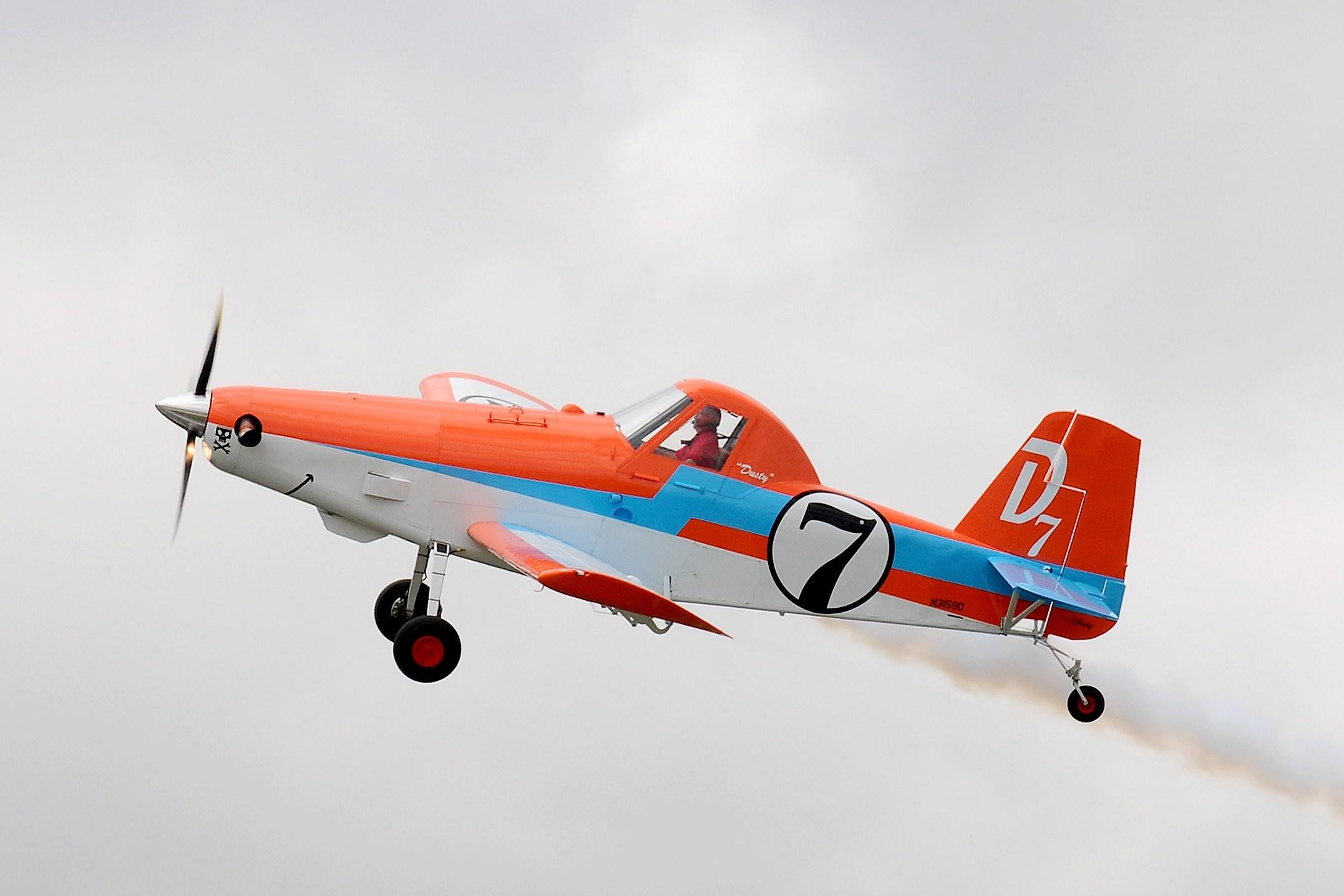 AT-301/400A «Дасти Полейполе» стал экспонатом Национального музея авиации и космонавтики США