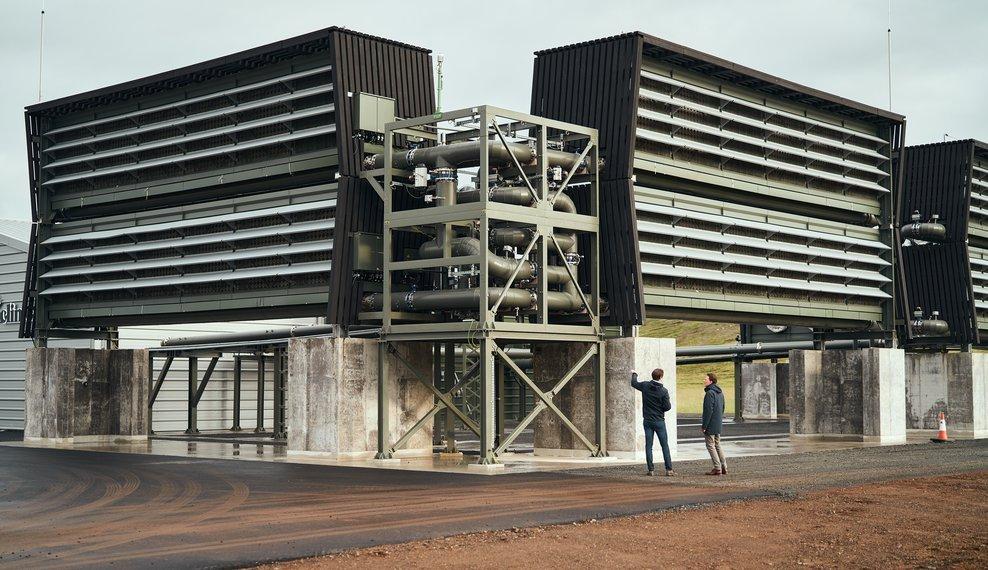 Orca: крупнейшая в мире установка по очистке воздуха от CO2