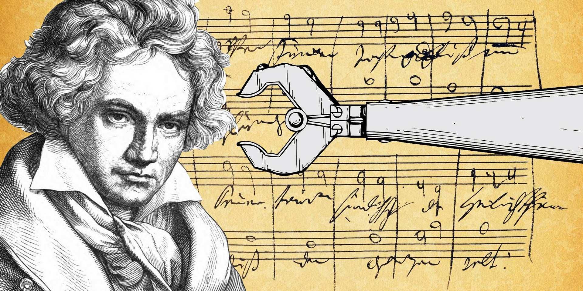 Искусственный интеллект дописал Десятую симфонию Бетховена