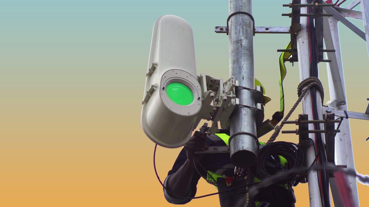Проект Taara: беспроводная передача данных на скорости 20 Гбит/с