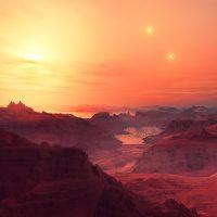 GW Orionis: планета с тремя солнцами