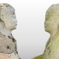 Садовые скульптуры оказались древнеегипетскими реликвиями