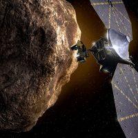 Космический зонд Lucy отправился к троянцам Юпитера